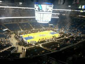section 212 a 6 c amway center section 212 row 1 seat 6 orlando magic
