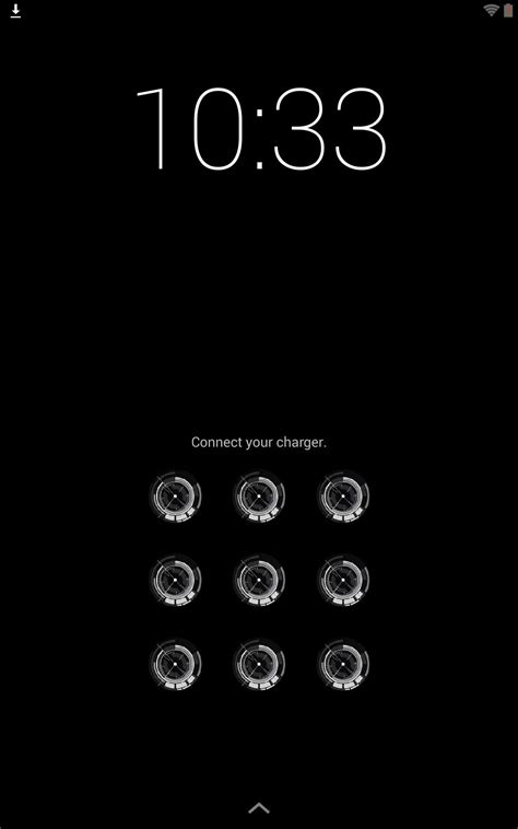 pattern unlock design how to theme the pattern unlock screen on your nexus 7