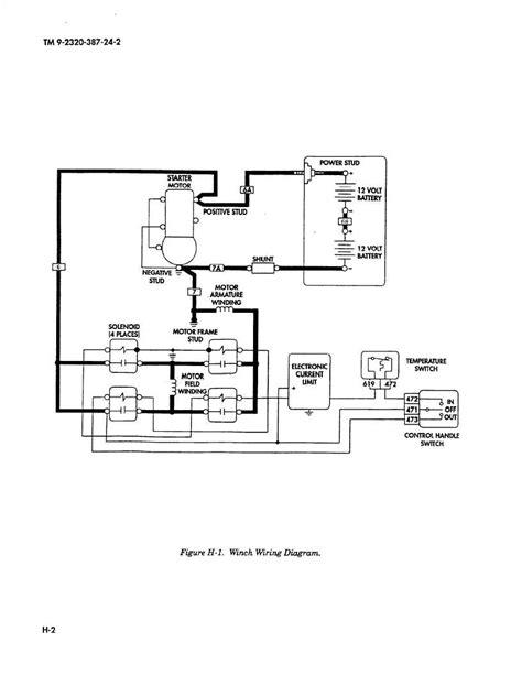 Figure H-l. Winch Wiring Diagram.