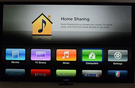 how to set up home on itunes iphone and