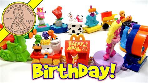 Happy Set happy birthday 1994 set mcdonald s retro happy meal