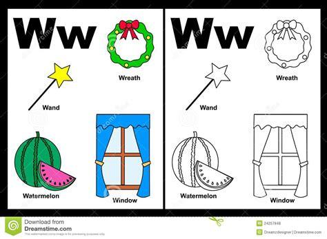 imagenes que empiecen con la letra w en español objetos con la letra w imagui