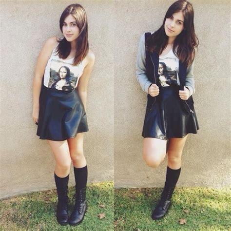 katy l ross combat boots fashion q knee high black socks fashion q leather skater skirt