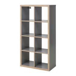 kallax shelving unit grey wood effect ikea