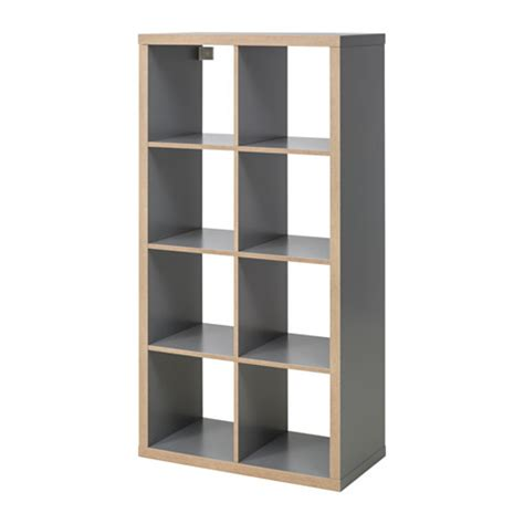 ikea regal kallax regal grau holzeffekt ikea