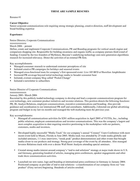 Resume Work Objective by How To Write A Objective For Resume Resume 2016