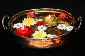 Flowers Home Decoration file floating diyas on water diwali 2011 jpg wikimedia