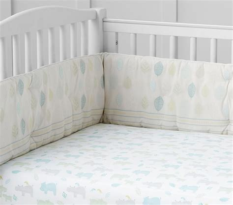 Hippo Crib Bedding Organic Hippo Baby Bedding Pottery Barn