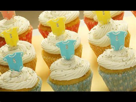 decoracion facil para cupcakes diy decoracion de cupcakes para baby shower ideas
