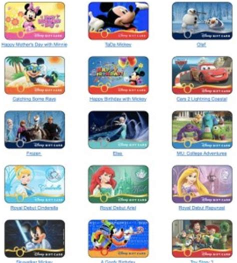 Where Can You Buy Disney Gift Cards - disney gift cards 101 touringplans com blog