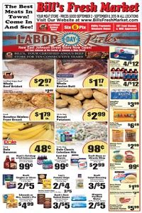 bills fresh market ad flyer specials
