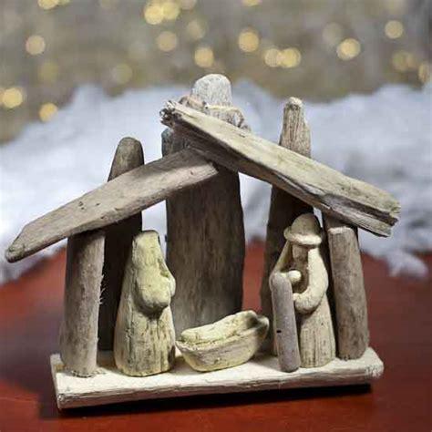 driftwood crafts for driftwood nativity ornament coastal decor home decor