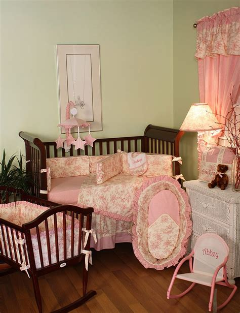 Hoohobbers Crib Bedding Hoohobbers Baby Crib Bedding And Related Products In The Etoile Pink Design Collection