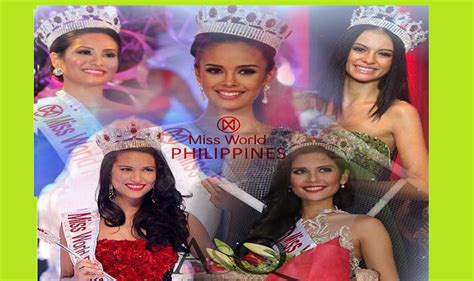 Philippines Search For The Search Is On For The Next Miss World Philippines Pageanthology 101
