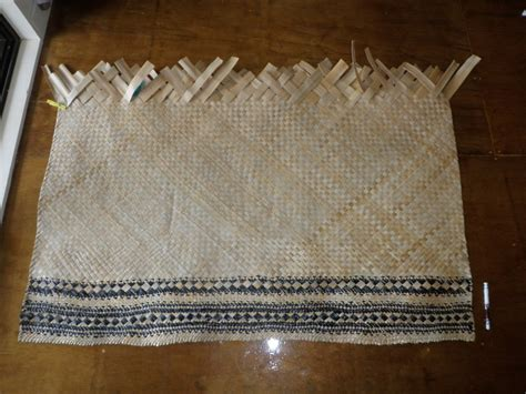 a weaving i will go cook islands style wrapt weaving