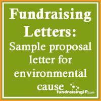 Fundraising Pitch Letter sle letter how to write an environmental