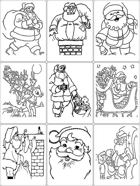 coloring book pdf format coloring pages file name santa coloring pages pdf