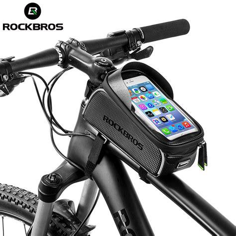 Tas Untuk Sepeda rockbros tas sepeda waterproof untuk 6 0 inch smartphone