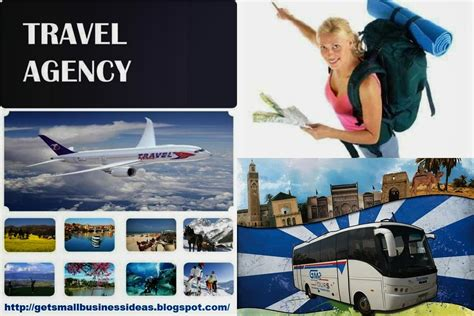 business ideas small business ideas how to start a travel agency business