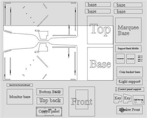 size arcade cabinet plans 2015 updates arcade cabinets