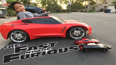 how fast is a corvette fast and furious r c car vs powerwheels corvette race