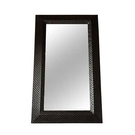 L V Mirror Italy Leather Size 25 Cm Best Quality Include Box 3 550 italian modern woven leather mirror for sale at 1stdibs