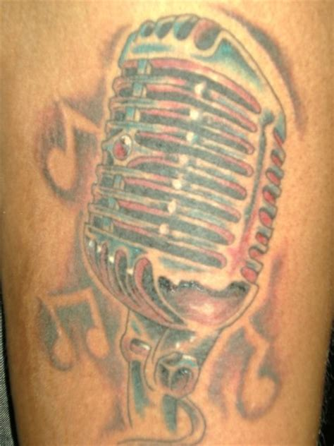 studio microphone tattoo designs microphone tattoo gallery best tattoo