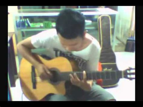 tutorial fingerstyle mudah dan byrd boulevard nathan fingerstyle youtube