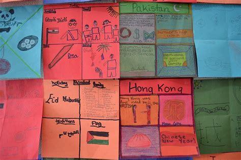 Diversity Quilts For International Week Kid World Citizen Cultural Project Template