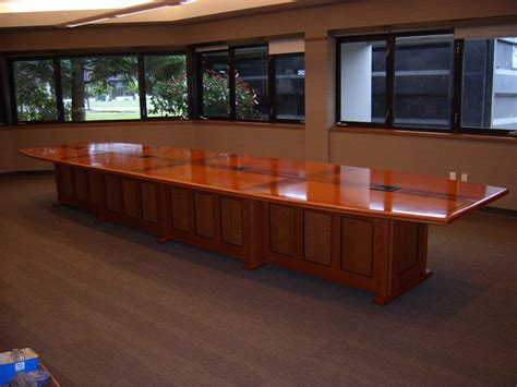 Executive Meeting Table Executive Conference Table Finewoodworking