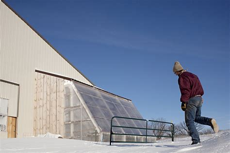 deep winter greenhouse deep winter greenhouse grows veggies year round