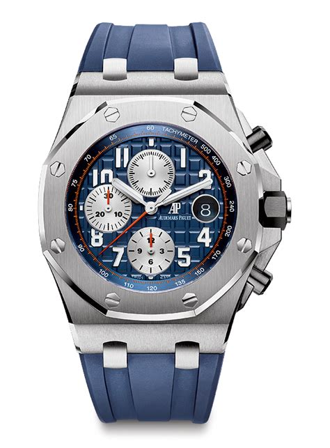 Audemars Piguet Roo Black Silver up 6 audemars piguet royal oak offshore