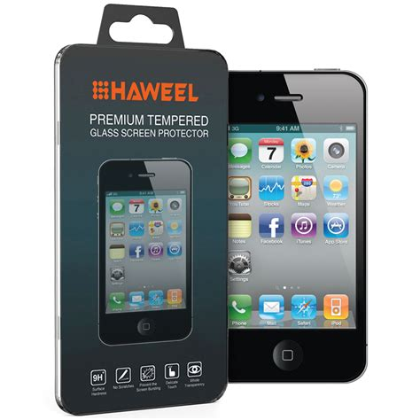 Tempered Glass Iphone 4 Gs 9h tempered glass screen protector for apple iphone 4s