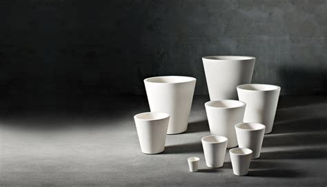 garden planters big vases by paolo rizzatto design