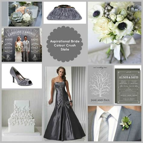 colour themes grey winter 2015 2016 wedding colors and trends that will be