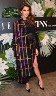 iris mittenaere at e and img new york fashion week