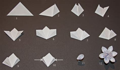 How To Make Origami Kusudama Flowers - origami paper