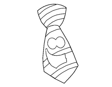 dibujo de corbata para colorear dibujos de corbatas para imprimir y colorear imagui