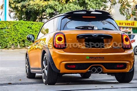 Hoodie Armytrix Racing armytrix catback exhaust system for mini cooper s f56