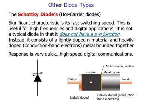 carrier diode chapter 3 special purpose diodes ppt
