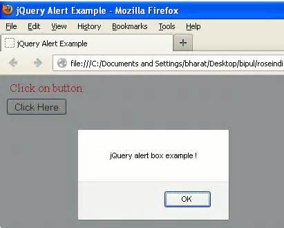 jquery tutorial questions jquery alert