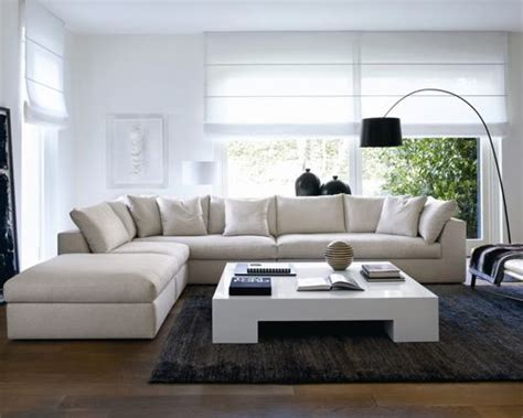 Houzz Modern Living Rooms by L Shaped Living Room Houzz