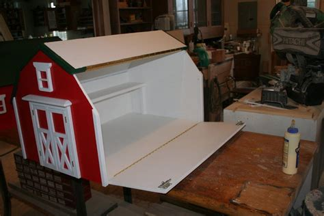 instructions   toy chest    barn diy