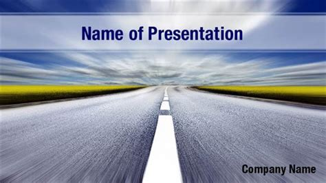 cement ppt themes free download highway powerpoint templates highway powerpoint