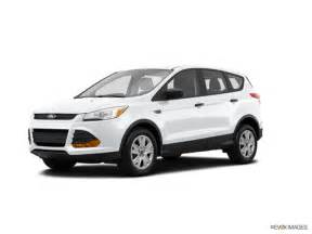 2015 ford escape kelley blue book