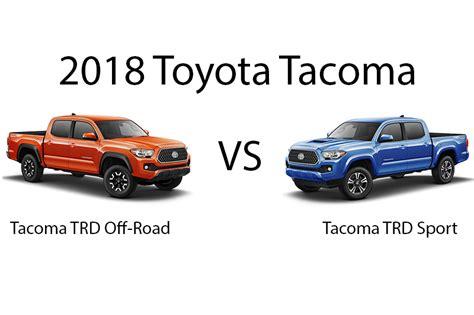 toyota tacoma trd sport  trd  road