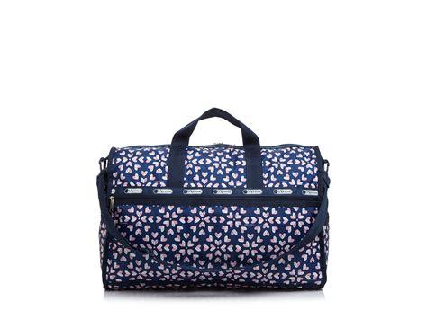 Lesportsac Large Weekender Bag lyst lesportsac large weekender in blue