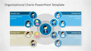 org chart template in powerpoint circular organizational chart for powerpoint slidemodel