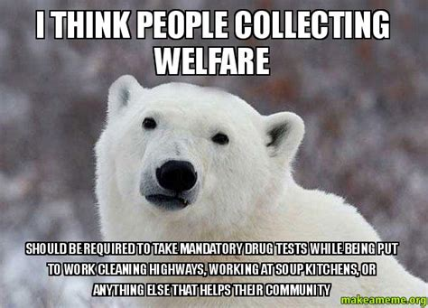 How To Collect Welfare Meme - welcome to memespp com