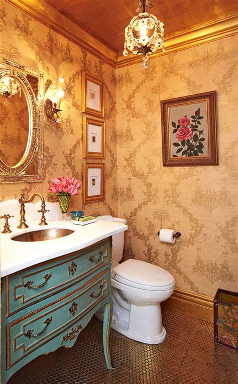 create  smashing powder room traditional home